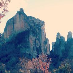 Travel & trekking Meteora Greece cultural monastery Kalambaka by PairedWithVintage Greece Destinations, Trekking, Culture, Mountains, Travel, Viajes, Greece Vacation, Destinations, Traveling