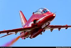 UK - Air Force: Red Arrows British Aerospace Hawk