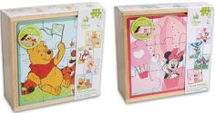 Disney Baby 4 Wooden Puzzles, Winnie The Pooh 4 Wooden Puzzles (328):Amazon:Toys & Games