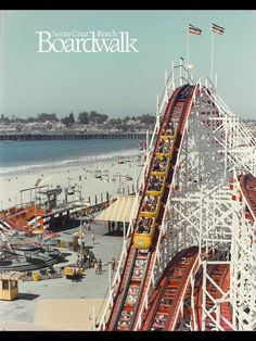Santa Cruz, CA. The Boardwalk. Another trip with Joann, Joan and Audrey. Joan and Joann went on all the rides. Audrey and I kept our feet firmly on the ground.
