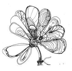 Saatchi Online Artist: Miki Sandorov; Pen and Ink