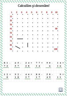 Calculăm și desenăm! Fișe de lucru cu operații matematice și desen Math For Kids, Projects To Try, Learning, Hidden Pictures, Second Best, Calculus, Studying, Teaching, Onderwijs
