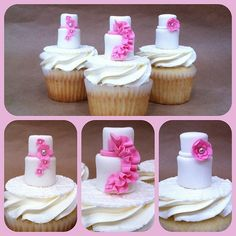 Nice cake toppers! cupcakes