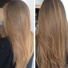 Are you going to balayage hair for the first time and know nothing about this technique? Or already have it and want to try its new type? We've gathered everything you need to know about balayage, check! Ombre Hair Color, Hair Color Balayage, Cool Hair Color, Brown Hair Colors, Balayage Highlights, Short Balayage, Balayage Brunette, Trendy Hair Colors, Honey Highlights