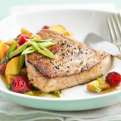 Try this delicious baked salmon recipe: http://www.bhg.com/recipes/healthy/dinner/cheap-heart-healthy-dinner-ideas/?socsrc=bhgpin022814tunaandfruitsalsa&page=24