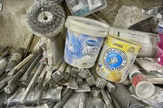 The Tools of a Venice Stone Masonry # 05 by Glenn Capers