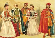Fashions of 17th century Hungary.