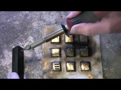 Encaustic Technique 12 Hot Wax Stylus - YouTube ------------12 lezioni---------------