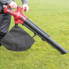Cordless Battery Powered Leaf Blower & Vacuum 18V. As seen on the Alan Titchmarsh Show.