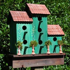 Wilderness Series WSBH137 Green Acres Inn Bird House - Outdoor Living Showroom