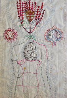 stitch | Willemien de Villiers | Woman and Turtle