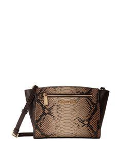 MICHAEL MICHAEL KORS Sophie Medium Messenger Bag In Snake Combo
