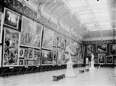 © Vue ancienne des salons de peinture - Photo Archives du musée des Augustins