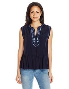http://www.athenefashion.com/women/rebecca-taylor-womens-sleeveless-navajo-embroidered-top/ awesome Rebecca Taylor Women's Sleeveless Navajo Embroidered Top