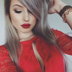 #makeup #redlips #red