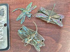 more of my art deco Vintaj Dragonflys