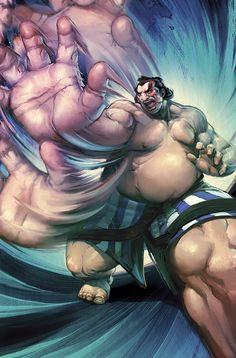 Street Fighter - E. Honda