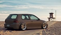 A very nice job done with a VW Golf R32. Our compliments to this customized edition! Benidorm, Spain, España