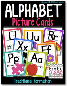 Check out these cute Alphabet Tracing books from Kinder Craze to use for your guided reading!