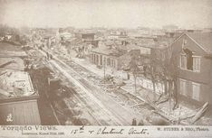 15th and Chestnut, Louisville, Ky., 1890 Tornado.