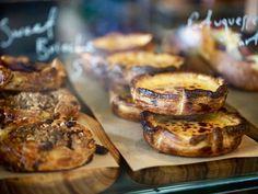 Hello Sweetie! Perfect #delicious pastries @thebreadsocial tempts @thefarmatbyronbay #instafood #visitbyronbay #yum #portuguesetarts #brioche #visitnsw #restaurantaustralia