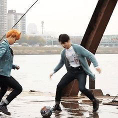 Jimin is crazy about him, but still gives Jungkook a hard time :))