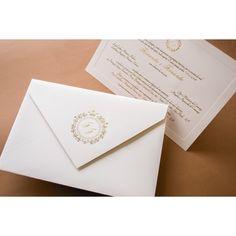Convite de Casamento Tradicional - Papel e Estilo