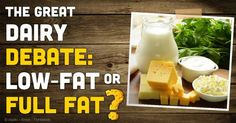 Full-Fat Dairy is Better Option for You