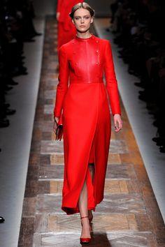 Paris Fashion Week: Valentino Fall 2012.