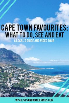 From gorgeous beaches to seaside walking routes & urban parks, there is so much to love about Cape Town. This South African city is known for its stunning views and mountains, and welcomes visitors with a smile & delicious food. Here is a local's guide to favourite places and spaces in Cape Town, after more than 4 years living in the city.