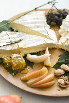 brie honey snack.  This would be amazing with our Sage and Rosemary Infused Honey!