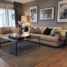 Living Room Decor Cozy, New Living Room, Living Room Interior, Home Interior Design, Home And Living, Interior Decorating, Beige Living Rooms, Living Room Inspiration, Apartment Living
