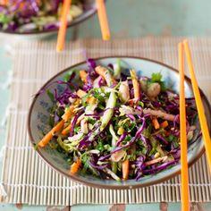 Crunchy Asian slaw by Nadia Lim   NadiaLim.com