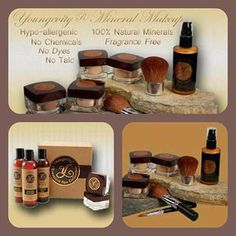 Youngevity Mineral Makeup. This make-up is awesome. Call me if you want to know more.  www.shellyverhaal.youngevityonline.com