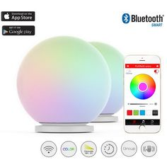 Color Effect On Mood mipow e26 bluetooth smart led light bulbs app group controlled