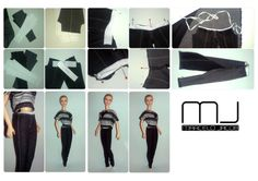 Jeggings - step-by-step /paso-a-paso
