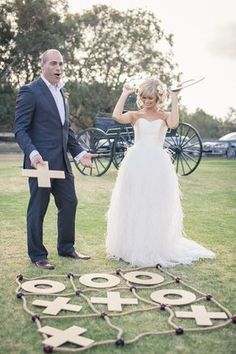 Outdoor Wedding Reception Lawn Game Ideas / www.deerpearlflow& The post Outdoor Wedding Reception Lawn Game Ideas / www.deerpearlflow& appeared first on Wedding. Lawn Games Wedding, Outdoor Wedding Reception, Budget Wedding, Wedding Planning, Wedding Backyard, Reception Ideas, Reception Activities, Wedding Tips, Wedding Games For Guests