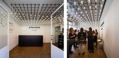 Algorithm pendant lights, designed by Toan Nguyen for Vibia, welcome visitors at the entrance of Live Work Design by @archiproducts in via Tortona 31, Milan http://www.vibia.com/en/blog/entry/id/189/vibia_lights_archiproducts_creative_spaces_in_milan.html?utm_source=social&utm_medium=pinterest&utm_campaign=post_fuori_sal_lwd_2016&utm_content=pint_eventsutm_term=