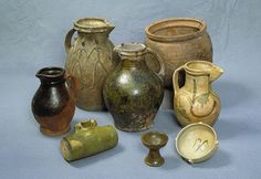 Medieval earthenware   Medieval pottery vessels ::: Gathering the Jewels