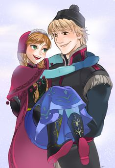 Anna and Kristoff forever