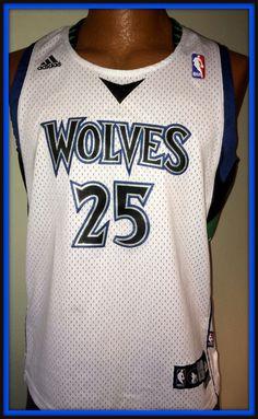 165f29912aaf ... vintage minnesota timberwolves al jefferson replica adidas jersey youth  large+2 2014 nba
