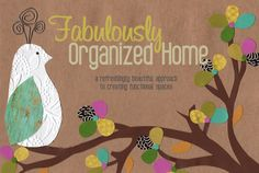 the weekend organizer {creating simplified + organized personal reference files}   Fabulously Organized Home