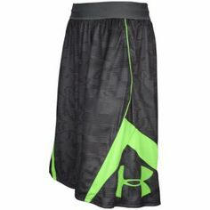 Under Armour EZ Mon-Knee Shorts - Men's - Graphite/Hyper Green