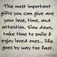 The most important gift...