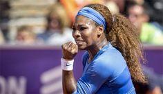 Serena Williams Defeats Johanna Larsson to Win SwedishOpen