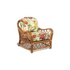 Crystal Lake Rattan Chair ($389) via Polyvore