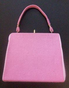 vintage 1960's handbag ... Jackie Kennedy style