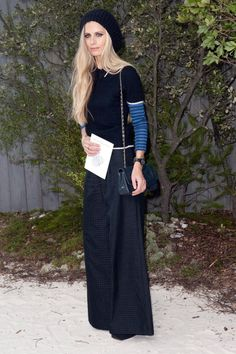 Laura Bailey at Chanel S13 HC PFW