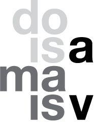 identidade visual - doisamaisv arquitetos