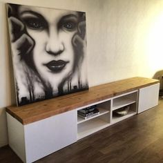 Ikea hack, meubels pimpen met steigerhout, DIY by Pimpish